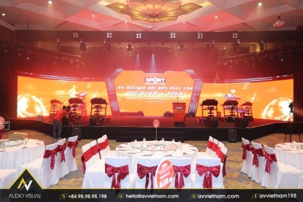 LED screen rental in Ho Chi Minh City