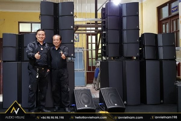 Line Array Speaker rentals- excellent technology