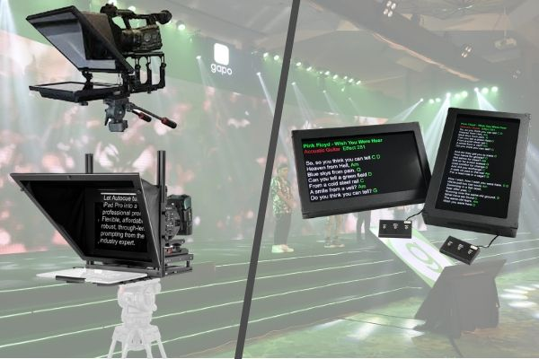 Teleprompter or Confidence Monitor- Choose the Best for Your Event