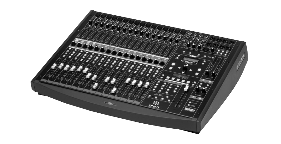 FOH: Mixers/ Sound Console